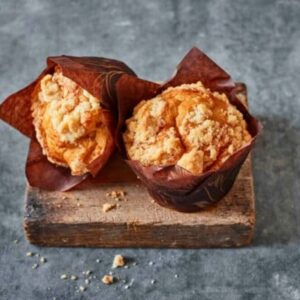 Apple Crumble Muffin two shot