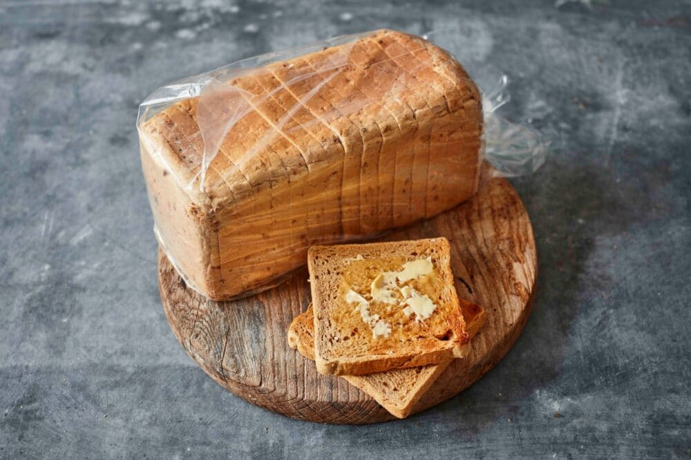 Granary Loaf with buttered toast