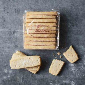 Shortbread pieces